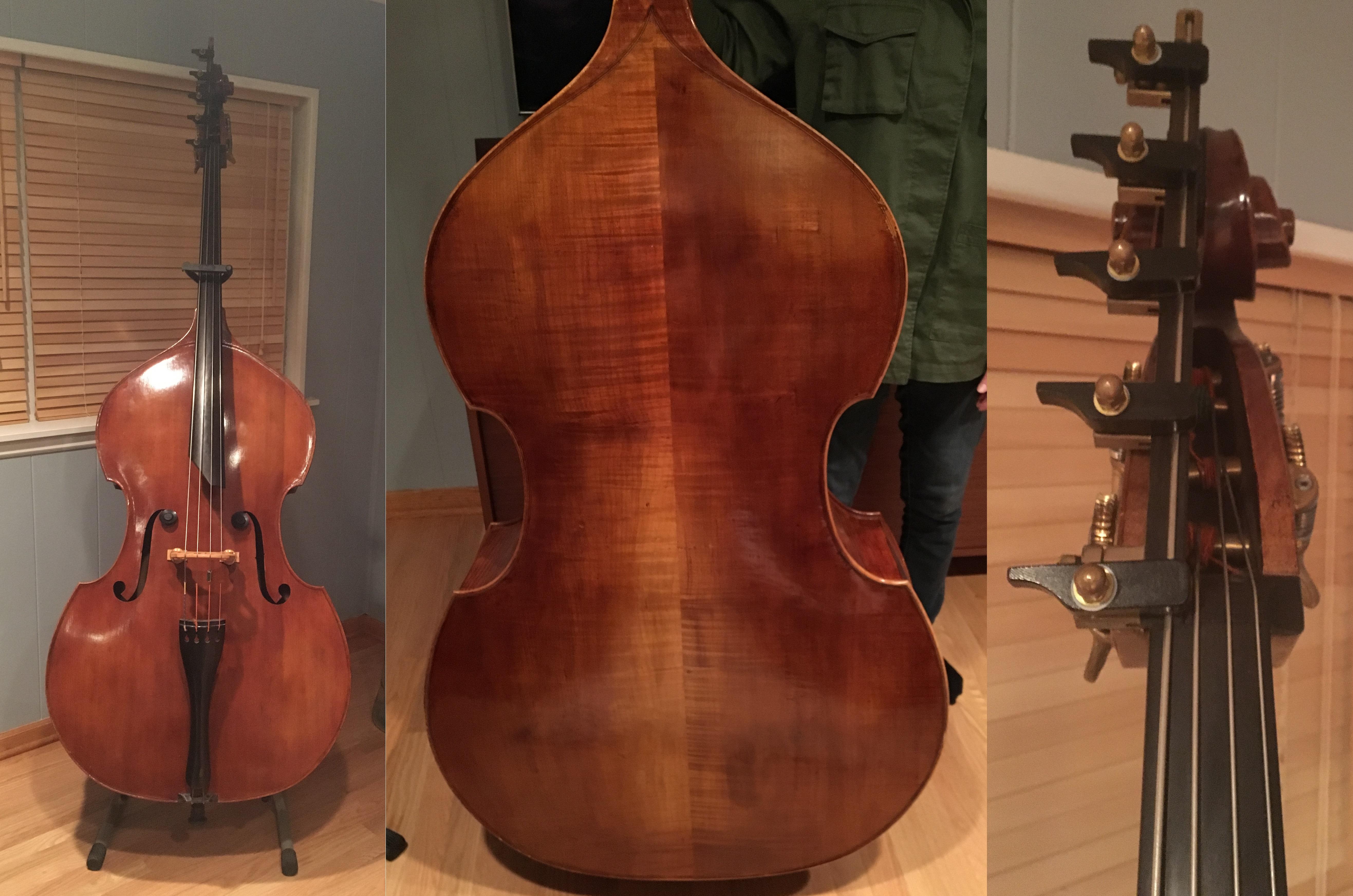 Old wood minerale interior of violin - Blake Maley Arlington Heights Il