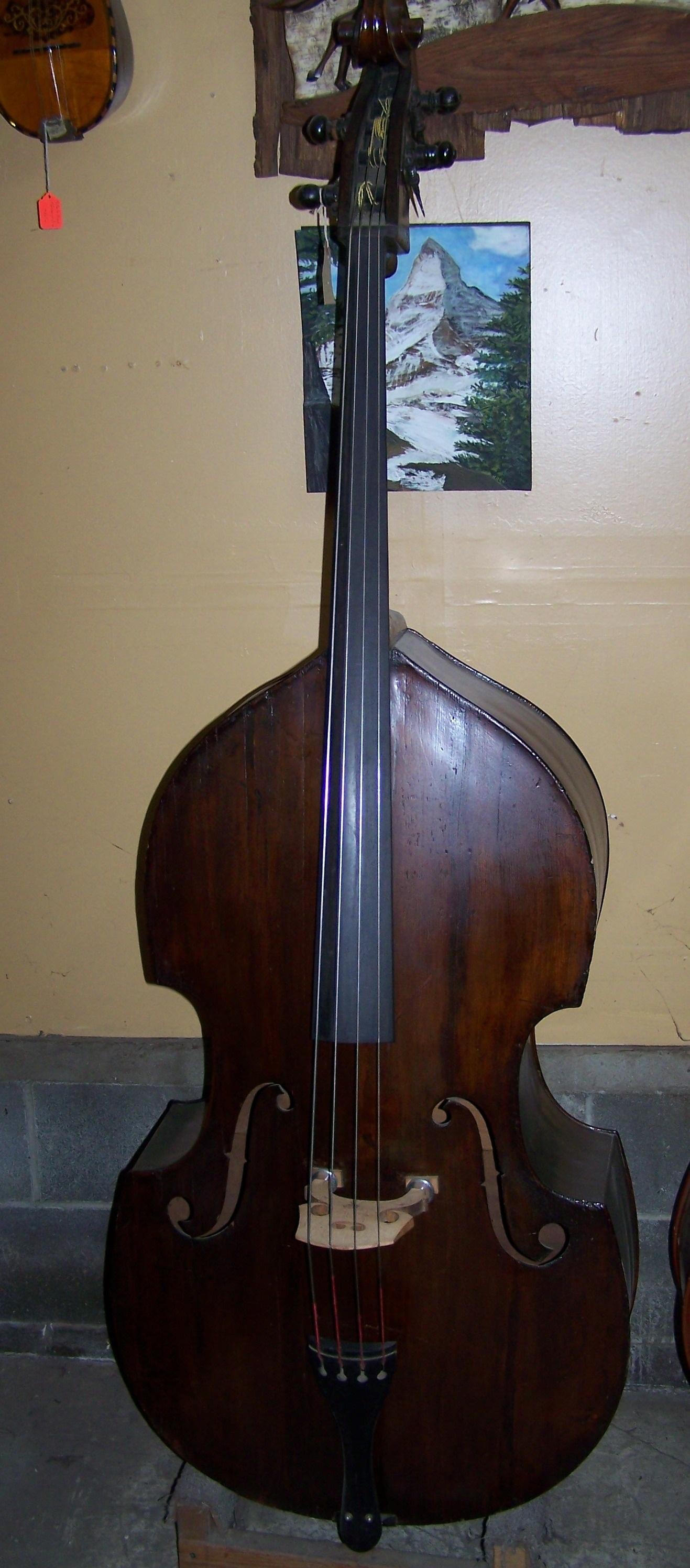 Old wood minerale interior of violin - Tim Coerver Hartville Oh